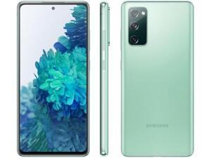 """Smartphone Samsung Galaxy S20 FE 256GB Cloud Mint - 8GB RAM Tela 6,5"""" - R$2899"""