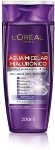 [Prime] Água Micelar com ativo Hialurônico, 200ml, L'Oréal Paris - R$21