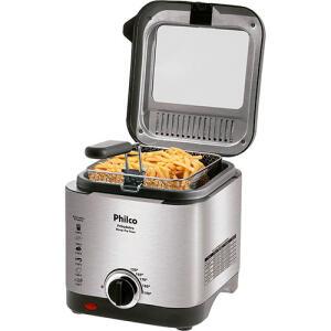 [Reembalado] Fritadeira Elétrica Philco Deep Fry 1,8 Litros Inox 127V | R$110