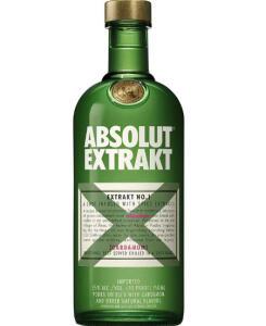 [2 unidades] Vodka Absolut Extrakt (Cardamomo) 750 ml | R$ 129