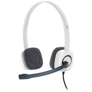 Fone com Microfone Logitech H150 Prata | R$19