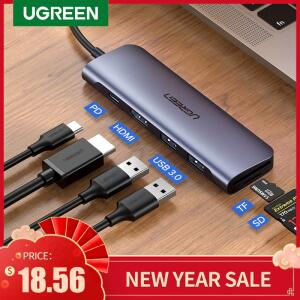 Hub USB Ugreen Tipo C | R$108
