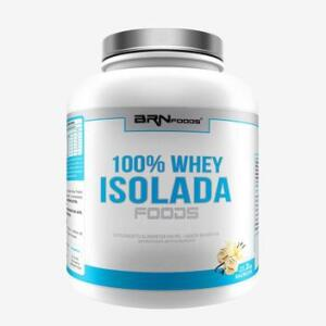 100% Whey Isolada Foods 2kg Baunilha BRNFOODS - Brn Foods | R$150
