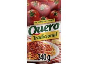 [Cliente Ouro + App] Molho de Tomate Quero Tradicional | R$0,68