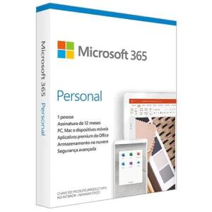 Microsoft Office 365 Personal + 1TB de Armazenamento Válidos por 1 Ano | R$80