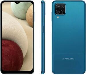 [C.Ouro] Smartphone Samsung Galaxy A12 Octa-Core 64GB | Todas as Cores | R$1000