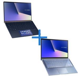 Notebook ASUS Zenbook UX434FAC-A6340T + Notebook ASUS ZenBook UX431FA-AN202T   R$8.999