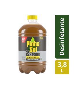 [C. Ouro + App + Cupom] Desinfetante Pinho Sol 2x Poder 3,8 Litros | R$21