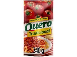 [App+Ouro]Molho de Tomate tradicional Quero 340g - R$0,9