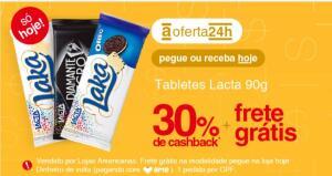 (AME R$4,19) Barra de Chocolate Lacta R$6