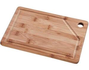 [PRIME] Tábua Retangular Bamboo, Mor, 35 x 25 cm R$33