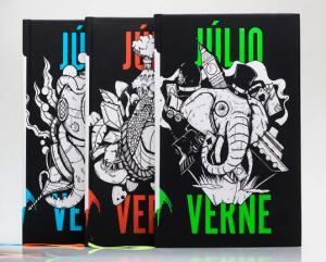 Kit 3 Livros | Capa Dura | Júlio Verne | R$ 40