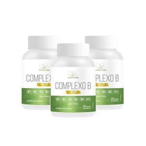 3X COMPLEXO B (30 CÁPSULAS CADA) - GREEN LEAN