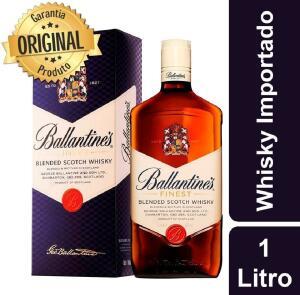 Whisky Ballantine's Finest 1000 ml 1L | R$74