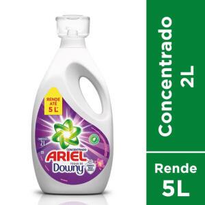 [APP] Sabão Líquido Ariel Toque De Downy - Concentrado 2L | 5 unid | R$ 16 cada