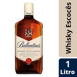 Whisky Escocês Ballantine's Finest - 1L   R$65