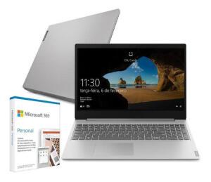 Notebook Lenovo S145 I3 4gb 128ssd W10 + microsoft 365personal | R$2699
