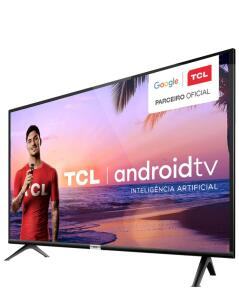 "[APP] Smart TV LED 32"" TCL 32S6500S Android, HDR, Controle com Comando de Voz, Micro Dimming, Google Assistant, HDMI e USB R$1140"
