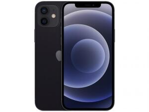 "iPhone 12 Apple 128GB Preto Tela 6,1"" R$5999"