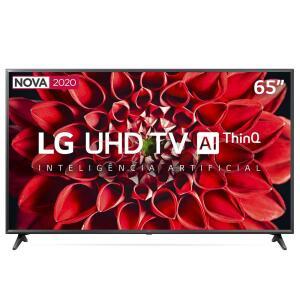 "Smart TV LED 65"" UHD 4K LG R$3799"