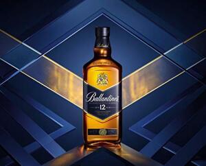 Whisky 12 Anos Ballantines, 1L R$96