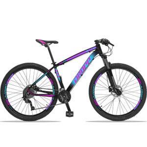 Bicicleta Dropp Z4X 27v Câmbios ACERA/DEORE Freio Hidráulico Suspensão com Trava no Ombro Aro 29 R$3099