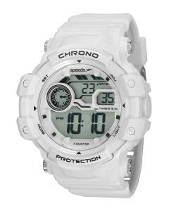 kit de relógio digital speedo masculino + fone de ouvido branco R$112