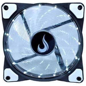Cooler FAN Rise Mode Wind W1, 120mm, LED Branco - RM-WN-01-BW R$14