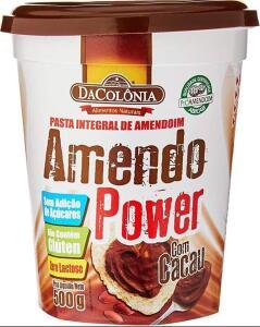 (Prime) Amendopower Pasta De Amendoim Com Cacau Zero 500G R$14