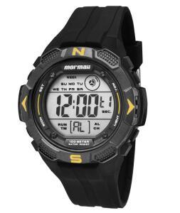 [App] Relógio digital Mormaii Masculino - mo29088y preto | R$96