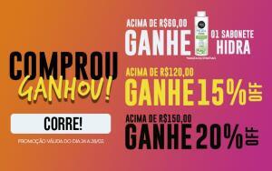 15% a 20% nos kit salon line - Frete Grátis