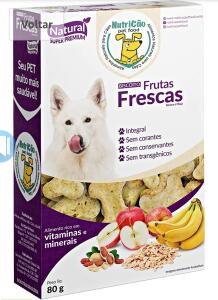 [Prime] Biscoito para cães - Frutas Frescas, NutriCão, Crème (Min.3) | R$3,50 cada