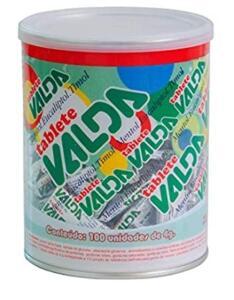 [PRIME] Pastilhas Valda, Kit com 100 Tablete de 4g | R$54