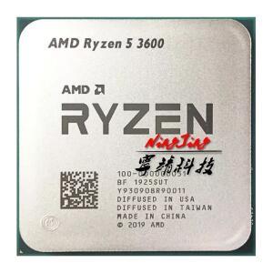 Processador Ryzen R5 3600 AMD 6-Core, 3.6GHz | R$950
