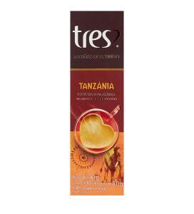 Cápsula de Café Espresso, Tanzânia, Regiões Do Mundo, 10 Cápsulas, Tres, 3 Corações | R$11