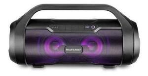 (PRIME) Super Bazooka Multilaser Bluetooth 180W Preto - SP339 | R$279