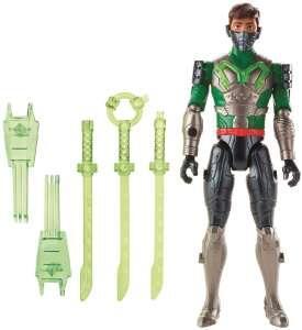 Boneco Max Steel Mattel Ataque Multi Espadas | R$50