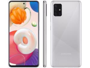 "[APP + Cliente ouro] Smartphone Samsung Galaxy A51 128GB Cinza 4D - 4GB RAM 6,5"" - R$1538"