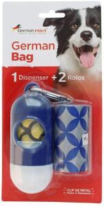 [Recorrência] Dispenser de Cata-Caca GermanHart Circulos, Azul e Branco | R$13