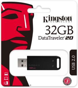 Pen Drive 32GB USB 2.0 Data Traveler Série 20 - 2 unidades | R$30