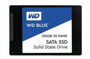 SSD WD BLUE 500GB Leitura 560, Gravação 530 | R$398