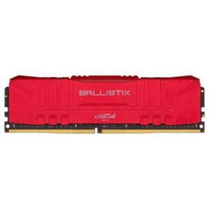 Memória RAM Crucial Ballistix 16GB DDR4 3000 Mhz, CL15, UDIMM, Vermelho | R$430