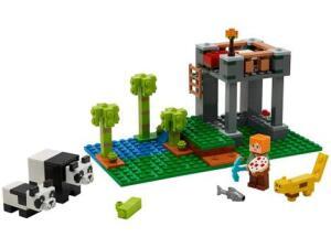 LEGO Minecraft A Creche dos Pandas 204 Peças - 21158 | R$ 117