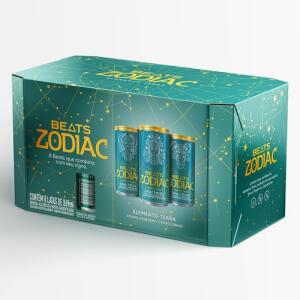 Skol Beats Zodiac Terra Pack Com 8 Unidades (269ml)   R$ 30