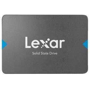 SSD Lexar NQ100 SATAIII, 240GB, Sata, leituras: 550Mb/s e Gravações: 445Mb/s   R$ 219
