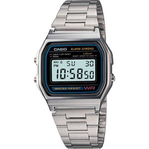 Relógio Masculino Casio Digital Esportivo A158WA-1DF | R$148