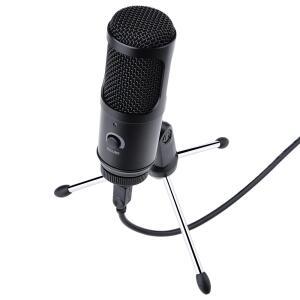 Microfone condensador usb para gravação para pc , notebook, podcast por voz | R$ 115