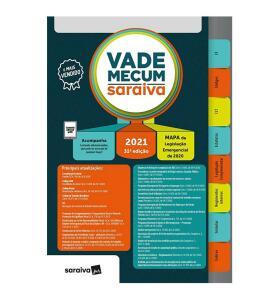 Vade Mecum Saraiva - Tradicional - 31ª Edição 2021 - R$149