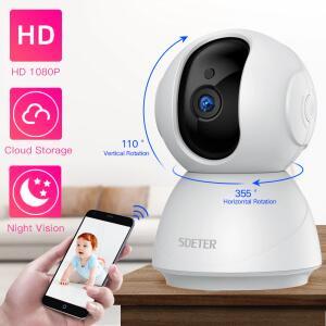 Camera Wifi 1080p Sdeter   R$ 136