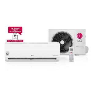 Ar Condicionado Split LG Dual Inverter Voice 9000 Btus Frio 220V | R$ 1200